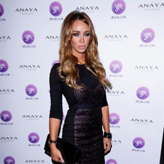 Lauren Pope Is 'Lucky' Cheryl Wears Her Hair Extensions