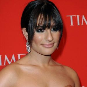 Lea Michele Gets Beauty Boost From Glee
