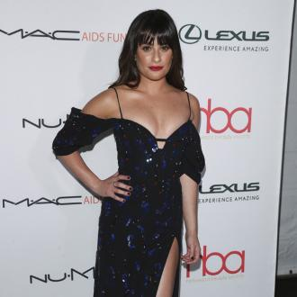 Lea Michele can't close her wardrobe because she has too many clothes