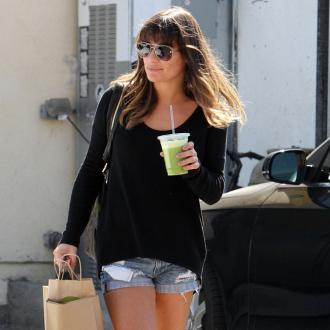 Lea Michele Enjoys 'Beautiful Dinner' Before Awards
