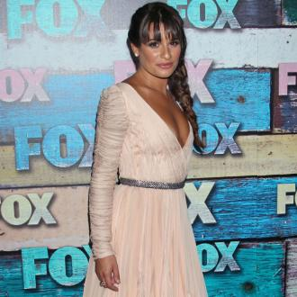 Lea Michele Leaning On Friends For Support