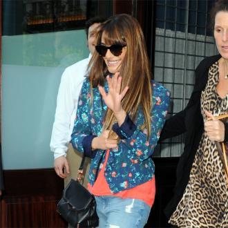 Lea Michele To Mourn Cory In Private