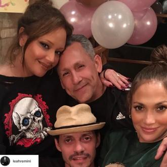 Jennifer Lopez And Marc Anthony Reunite To Celebrate Children's Birthday