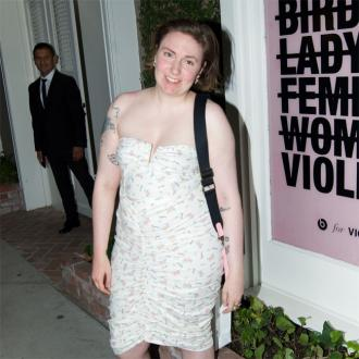 Lena Dunham finds contentment