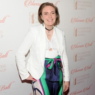 Lena Dunham celebrating one year sober