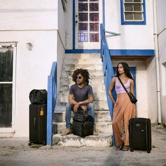 Lenny and Zoe Kravitz front Tumi's campaign