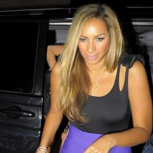 Leona Lewis Finds Comfort In Animals