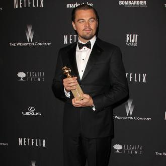 Leonardo Dicaprio Laughs Off Red Carpet Prank