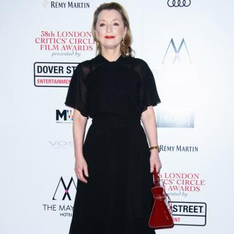 Lesley Manville isn't sour-faced at ex-husband Gary Oldman's Oscar win
