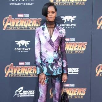 Letitia Wright makes statement of 'strength' at Avengers: Infinity War premiere