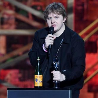 Lewis Capaldi hits back after taking tonic wine on stage at BRITs
