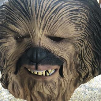 Paolo Nutini buys Lewis Capaldi's Chewbacca mask for £10K