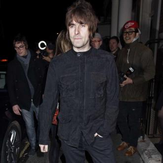 Liam Gallagher shooting cover for new album in Paris
