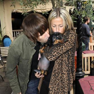 Liam Gallagher In Dog Fight With Nicole