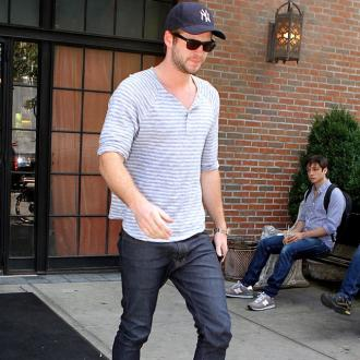 Liam Hemsworth Celebrating Christmas In La