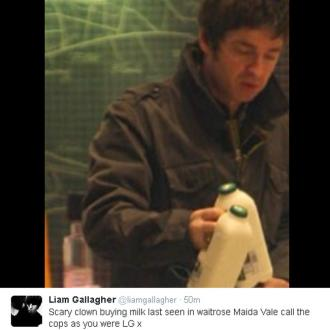 Noel Gallagher branded a 'scary clown' by Liam
