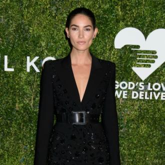 Lily Aldridge gives birth