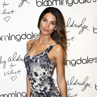 Lily Aldridge Gets Anxious On Catwalk