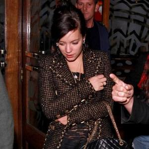 Lily Allen Has Mice In Her House