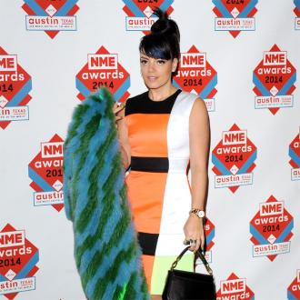 Lily Allen prefers men to be manly