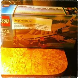 Lily Allen Gets Lego Present