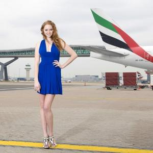Lily Cole's Gatwick Launch