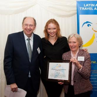 Lily Cole receives LATA Media Award