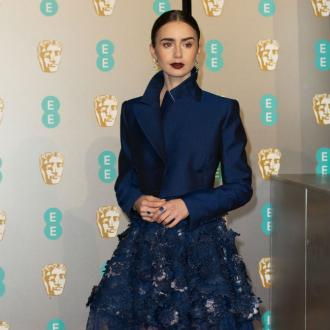 Lily Collins loves binge watching movies