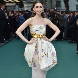 Lily Collins blames dad's split for eating disorder