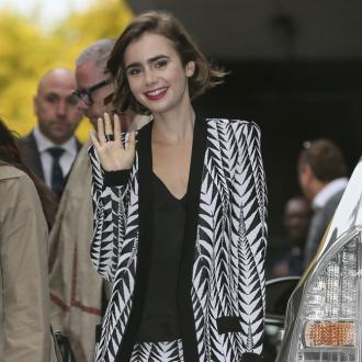 Lily Collins loves flea markets