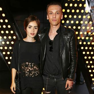 Lily Collins has split from Jamie Campbell Bower