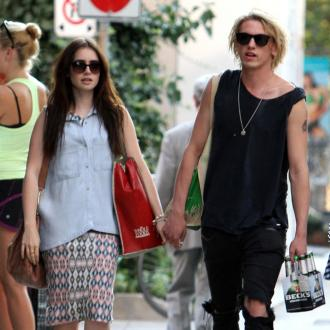 Lily Collins Rekindles Romance With Jamie Campbell Bower