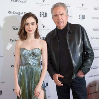 Lily Collins is 'fascinated' by Warren Beatty