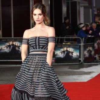 Lily James hits back at bodyshamers