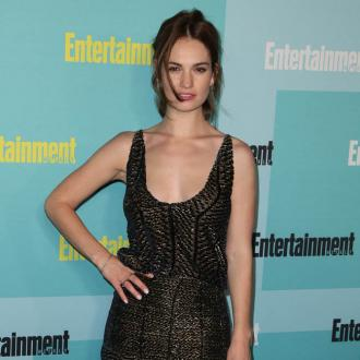 Lily James admits to being a pessimist