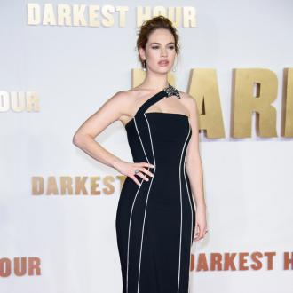 Lily James 'Overwhelmed' Working With Meryl Streep