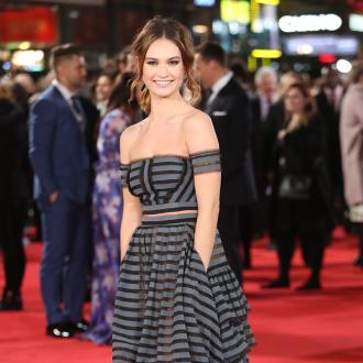 Lily James: Fame doesn't make you happy