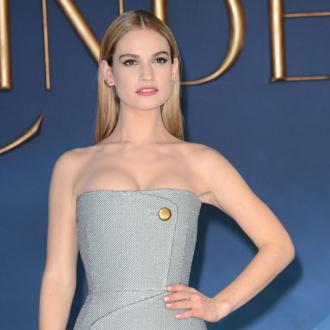 Lily James: Getting ready is stressful