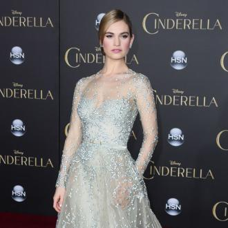 Lily James 'Burst Into Tears' Over Cinderella Costume