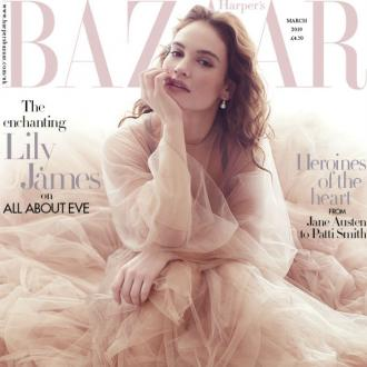 Lily James: The blonde, sweet thing is 'so not me'