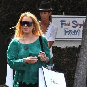 Lindsay Lohan's Naked Handbag Range