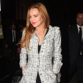 Lindsay Lohan broke down over fight with fiance
