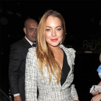 Lindsay Lohan Replaced For Christmas Lights Switch On