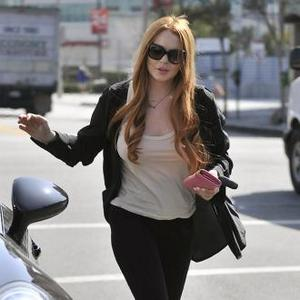 Lindsay Lohan Parties After Health Scare