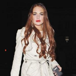 Lindsay Lohan Wore Violet Contacts For Liz Role