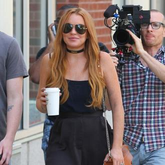 Lindsay Lohan Accused Of Throwing A Tantrum On Set