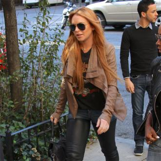 Lindsay Lohan Is Still Sober