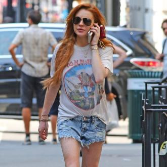 Lindsay Lohan Injured During Bike Ride