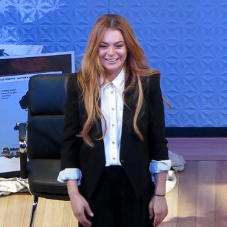 Lindsay Lohan Forgets Lines