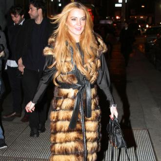 Lindsay Lohan Hits Recording Studio Again